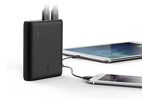 Power Core Portable Charger 2 Port - A1214H11 - 10400mAh - Black