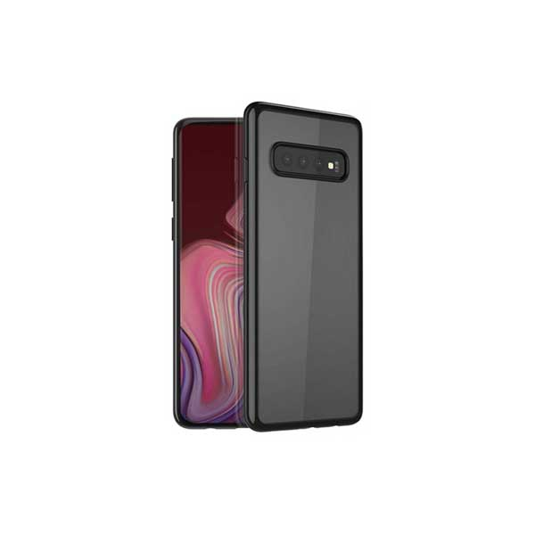 Back Cover Glazo Flex For Samsung S10 Plus - TPU - Black
