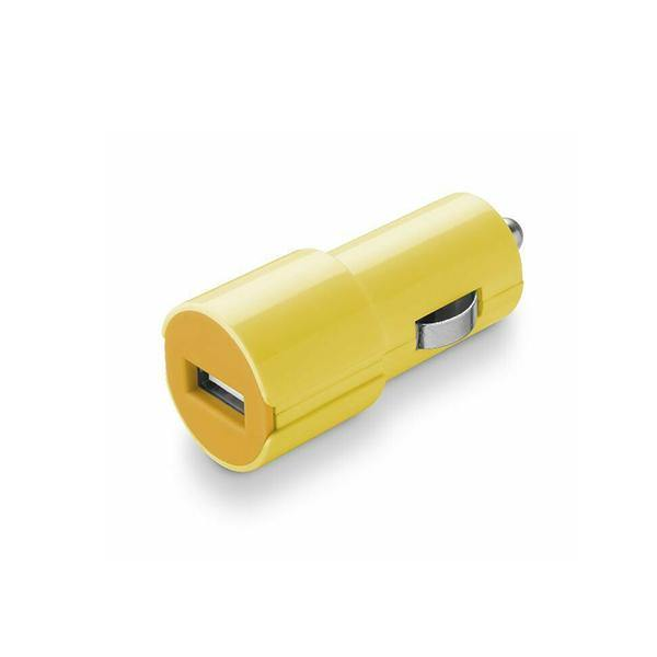CellularLine Dock Car Charger Fast 2A-5W-Yellow