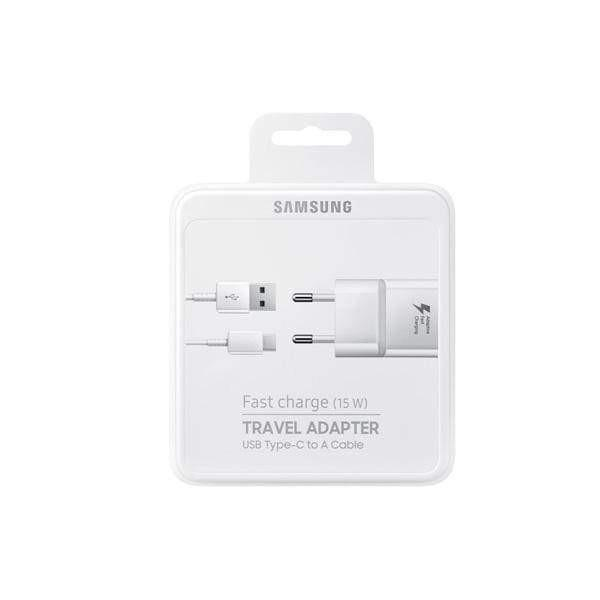 Samsung Travel Charger 15W (Fast Charging) with Type-C Cable