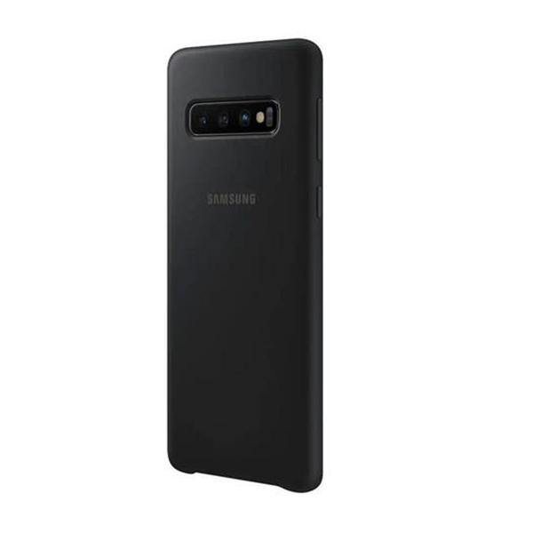 Back Cover For Samsung S10 - Silicone - Black