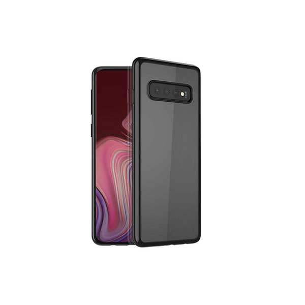 Samsung S10  Back Cover Glazo Flex - TPU - Black