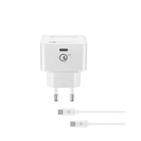 CellularLine Travel Charger Kit PD QC 30W - White