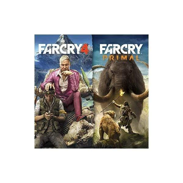 CD SONY PS4 ( FAR CRY 4 + FAR CRY PRIMAL )