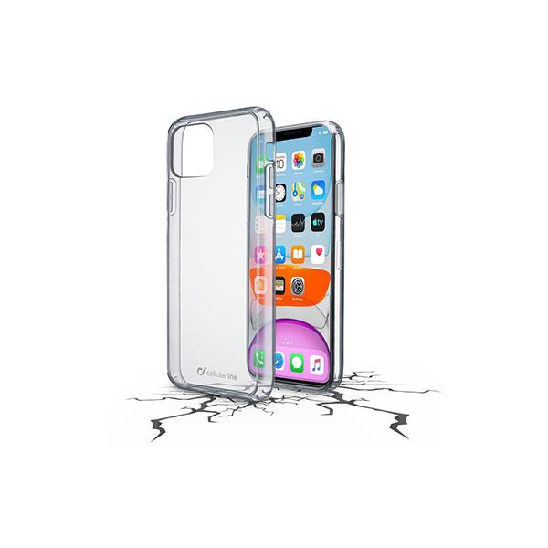 Back Cover CellularLine Duo iPhone 11 Pro Max - Hard -Transparent