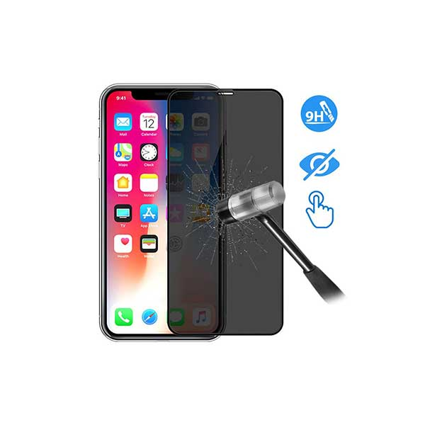 Devia 3D Full Glass Privacy iPhone X /  XS Screen Protector