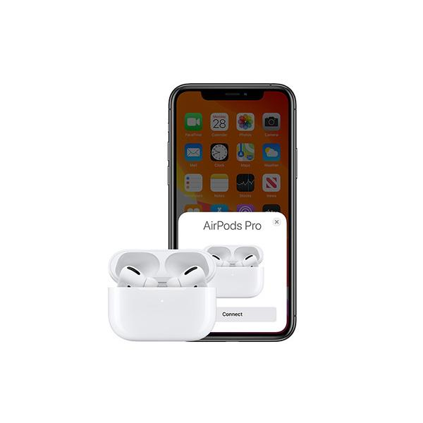 Apple Airpods Pro With - Wireless Charging Case - White - In Ear