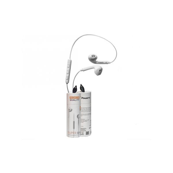 iOS Design Double Earphone - Wired - White - In Ear