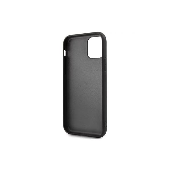 BMW Back Cover for iPhone 11 Pro Max - Leather - Hard - Color