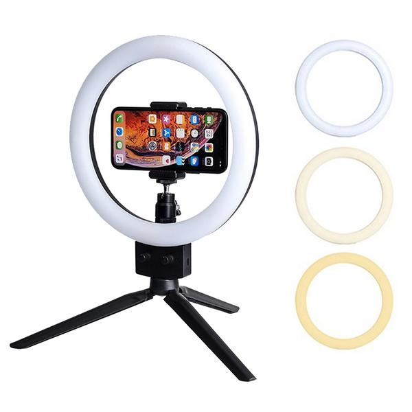 Ring Light LED +Tripod 3110-White - Select