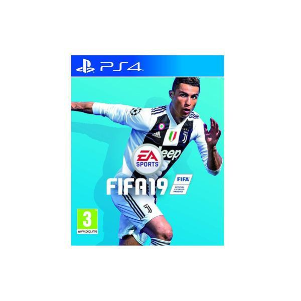بلاي ستيشن 4 - Reg2 - سعة 1 تيرا +  CD FIFA 2019 Arabic - Select