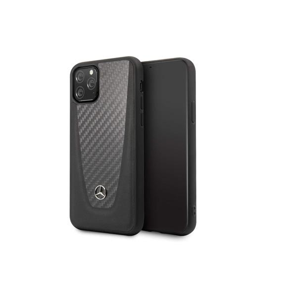 Mercedes Back Cover for iPhone 11 Pro Max - Leather - Hard - Color