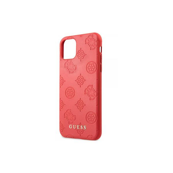 Guess Back Cover for iPhone 11 Pro Max - Leather - Hard - Color