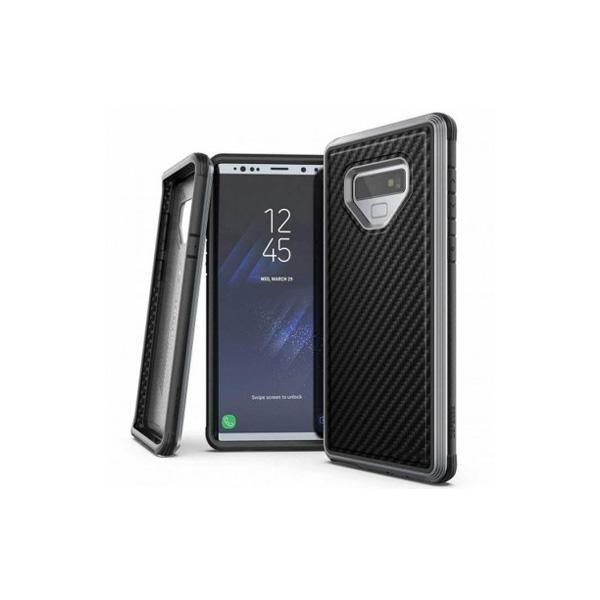 Defense Lux Back Case for Samsung Note 9 Carbon Fiber - Hard - Black