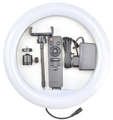 Ring Light LED 12'' inch YQ-320A - Remot Control+Tripod 2110-White - Select