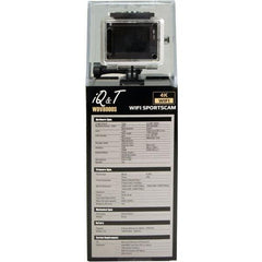 iQ&T 16MP Wireless Sports Camera - WD8000, Black - Select