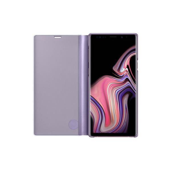 Clear View Standing Cover For Samsung Note 9 - Flip