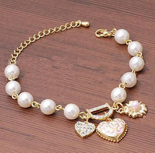 Load image into Gallery viewer, D Word Pearl Bracelets