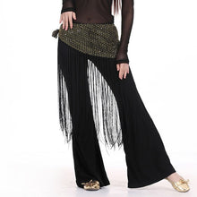 Load image into Gallery viewer, Tassel Sequins Belly Dance Scrarf