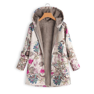 Estylo Retro Hooded Warm Jacket