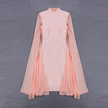 Load image into Gallery viewer, Women's Stylish Cloak Sleeve Dress Party Dress