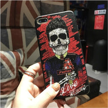 Load image into Gallery viewer, 3D Relief Laser Bling Phone Cases
