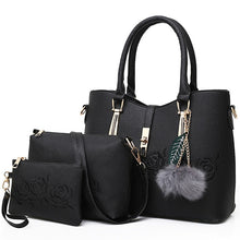 Load image into Gallery viewer, 3pcs Leather Handbags