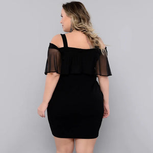 Jane's New Design Black Dress - Trendy