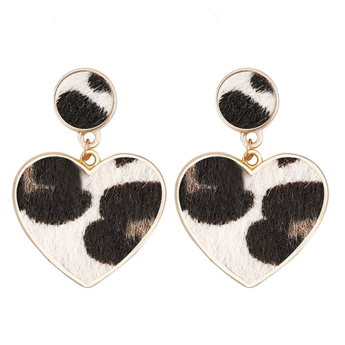 Leopard Drop Earrings 2019