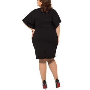 Forever New Batwing Sleeve Belt Dress