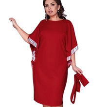Load image into Gallery viewer, Forever New Batwing Sleeve Belt Dress