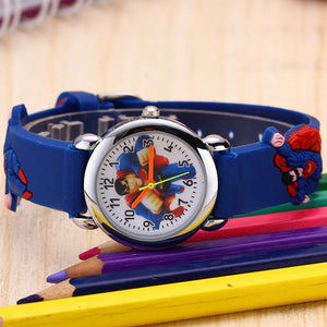 3D Superman Cartoon Watch