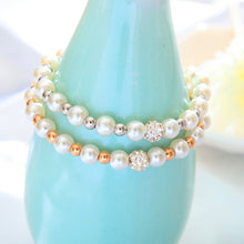 Load image into Gallery viewer, Classic Pearl Bracelet