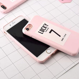 Ultra-thin Lucky 7 iPhone Cases