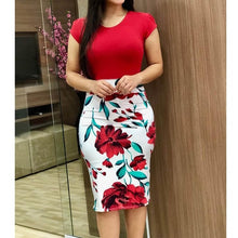 Load image into Gallery viewer, Most Favorite Printed Pencil Dress