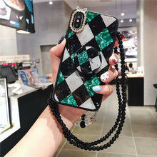 Load image into Gallery viewer, Boho Print Bow Diamonds Case for Huawei phones