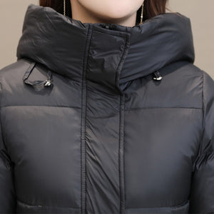 Winter Warm Hooded Overcoat