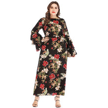 Load image into Gallery viewer, Floral New Design Ruffles Flare Long Maxi