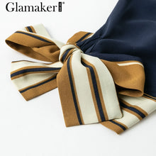 Load image into Gallery viewer, Elegant New Style Bow Sleeve Dress