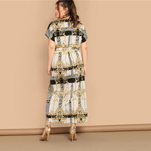Load image into Gallery viewer, Belted Maxi Dress