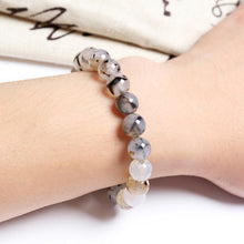 Load image into Gallery viewer, Trendy Natural Stone Love Purple Bead Bracelet