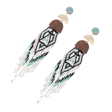 Load image into Gallery viewer, Bohemian Handmade Beaded Earrings