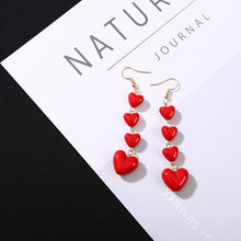 Load image into Gallery viewer, 2019 Romantic Love Heart Earrings