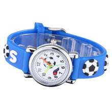 Load image into Gallery viewer, 3D Cartoon Football Waterproof Watch