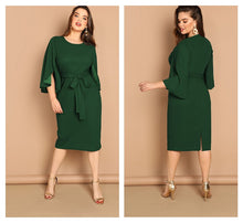 Load image into Gallery viewer, Gorgeous Green Pencil Dress