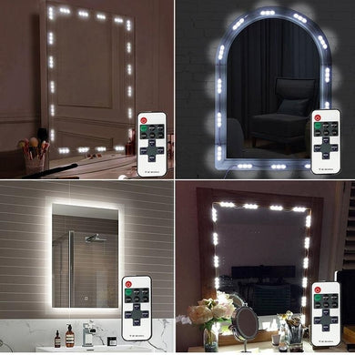 Hollywood Makeup Mirror Light Kit with Remote