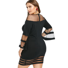 Load image into Gallery viewer, Bodycon Stripe Dress