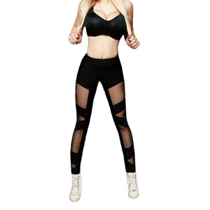 Mesh Push Up Leggings