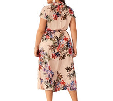 Load image into Gallery viewer, Elegant Floral Party Midi