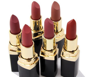 6pcs/set Waterproof Matte Lipstick Set